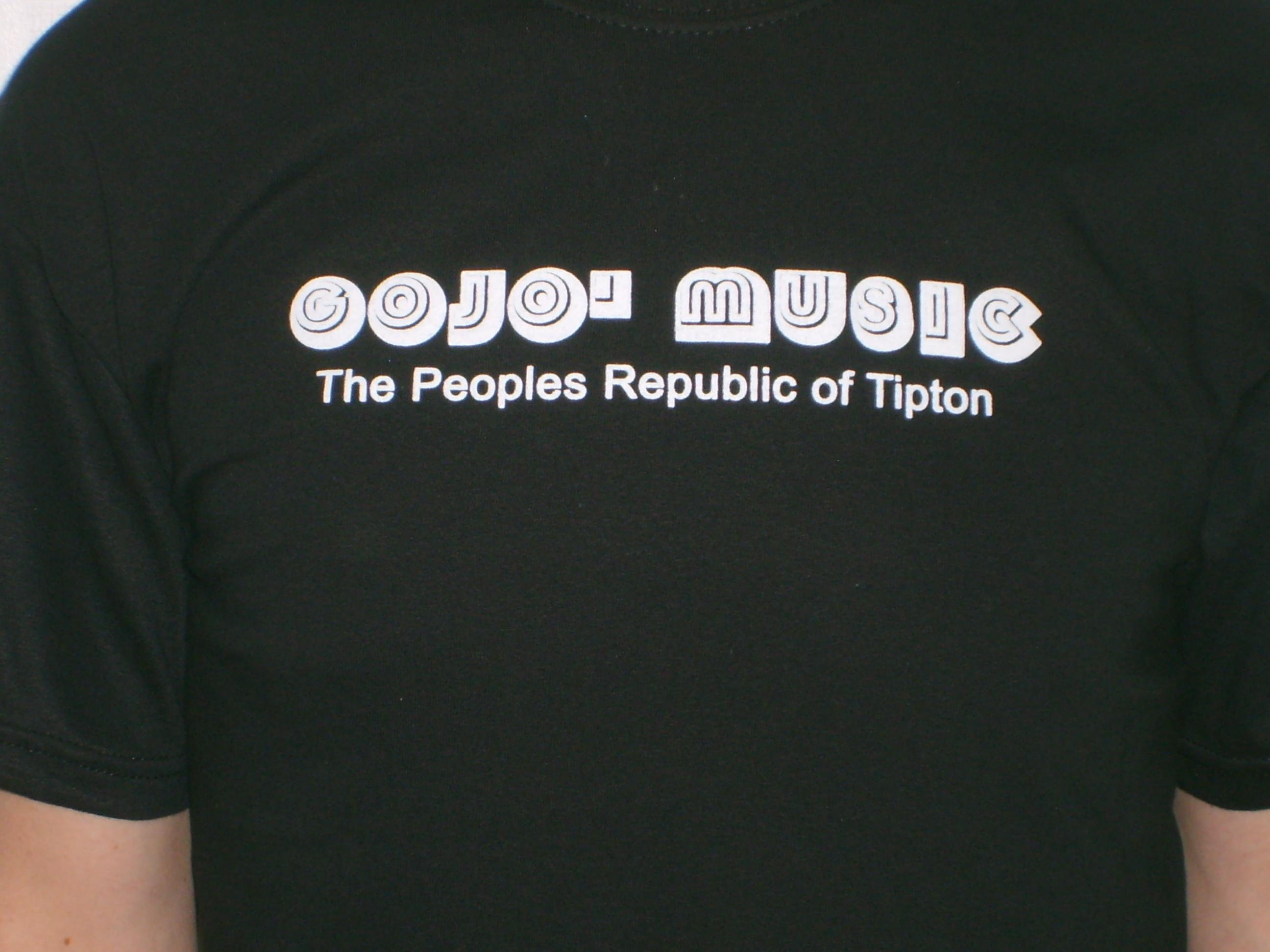 Gojo Music Peoples Republic Of Tipton T Shirt 2 Gojo Music