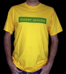 GOJO' MUSIC yellow tshirt2