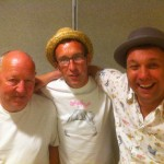 Me, Jim Hornsby & Martin Stephenson Solihull Sat 13th July
