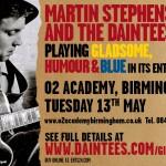 Mart Stephenson & Daintees poster for Brum gig 13-5-14