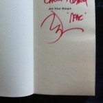 Ian McLagan book inside cover signature