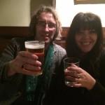 Me and Lana Lane - Three Tuns, Bishops Castle