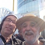 Me and Paul Murphy @ Peoples Assembly B'ham 8-7-15