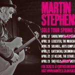 Martin Stephenson Spring solo tour 2016 (2)