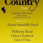 Wolverhampton Country poster - April 2016