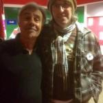 Me with Glen Matlock (Sex Pistols) @ Newhampton Arts Centre - Wolverhampton 10-11-16