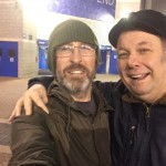 Me and Martin 'take The Shed' :-)